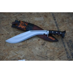 "12 "" GK&CO Yougall Angkhola Kukri, Guard Handle, Ganjawal Sheath Hand Made knife-In Nepal by GK&CO. Kukri House"