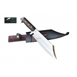Genuine Gurkha Kukri Knife -10 Inch Mukti (meaning redemption) Kukri knife - Handmade by GK&CO. Kukri House in Nepal.