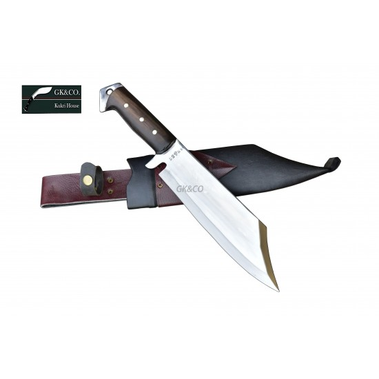 Genuine Gurkha Kukri Knife -10 Inch Mukti (meaning redemption) Kukri knife - Handmade by GK&CO. Kukri House in Nepal.