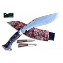 10 Inch World War II Gurkha Kukri knife Full Tang - Hand Made knife-In Nepal by GK&CO. Kukri House