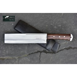 Genuine Gurkha Kukri Knife -10 Inch Blade Dau Chopping Knife-Real Working Kukri Knife - Handmade by GK&CO. Kukri House in Nepal.