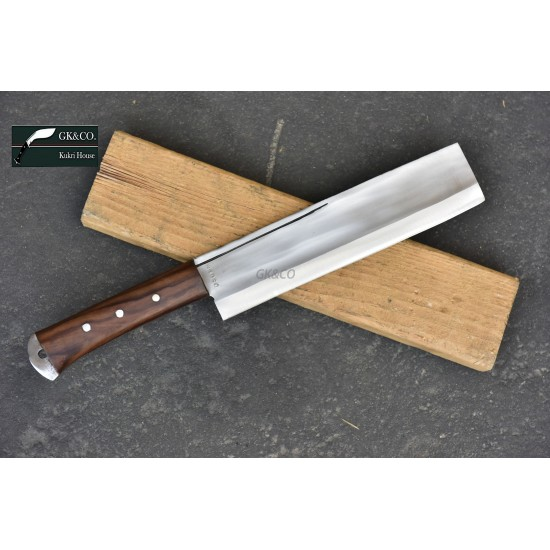 Genuine Gurkha Kukri Knife -10 Inch Blade Dau Chopping Knife-Real Working Kukri Knife - Handmade by GK&CO. Kukri House in Nepal.