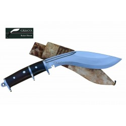 GK&CO New 10 Inch  Dual Guard Angkhola Gurkha Kukri Knife - Hand Made knife-In Nepal by GK&CO. Kukri House