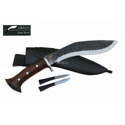 Genuine Gurkha 10 Inch  Black (Rust Free)  Katle Panawal Gard  Handmade knife-In Nepal by GK&CO. Kukri House