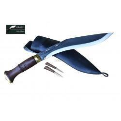 10 Inch Blade Black (Rust Free)  Sirupate khukri Hand Made knife-In Nepal by GK&CO. Kukri House