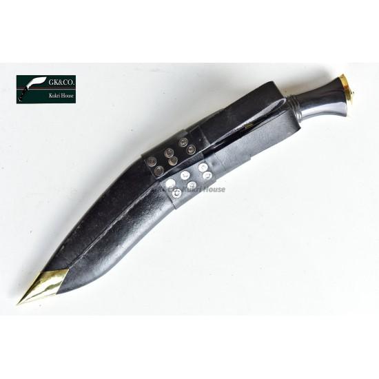 Genuine Gurkha Official Issue10.25 Inch -Service No.1 Kukri knife -Handmade knife-In Nepal by GK&CO. Kukri House