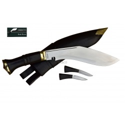 Genuine Gurkha Official Issue10.25 Inch -Service No.1 Kukri knife -Handmade knife-In Nepal by GK&CO. Kukri House