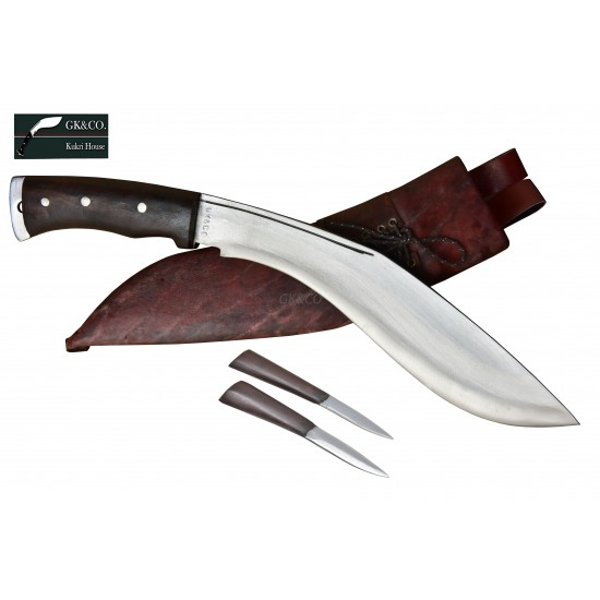 Genuine Gurkha Kukri- 11 Inch AEOF Afghan Official Issued Red Case Handmade by GK&CO. Kukri House