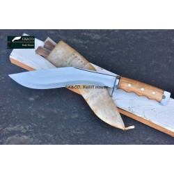 Genuine Gurkha Kukri- 11 Inch AEOF Afghan Official Issued  Handmade Full Tang Blocker Handle by GK&CO. Kukri House
