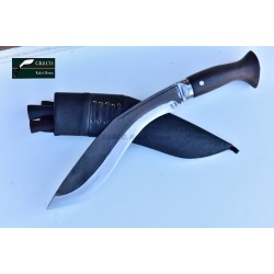 10 Inch Blade Black (Rust Free)  Sirupate Budune khukri Hand Made knife-In Nepal by GK&CO. Kukri House