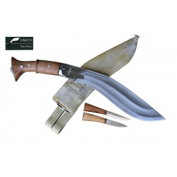 Genuine Gurkha Kukri- 11 Inch Iraqi Operation Freedom Official Issued  Handmade by GK&CO. Kukri House