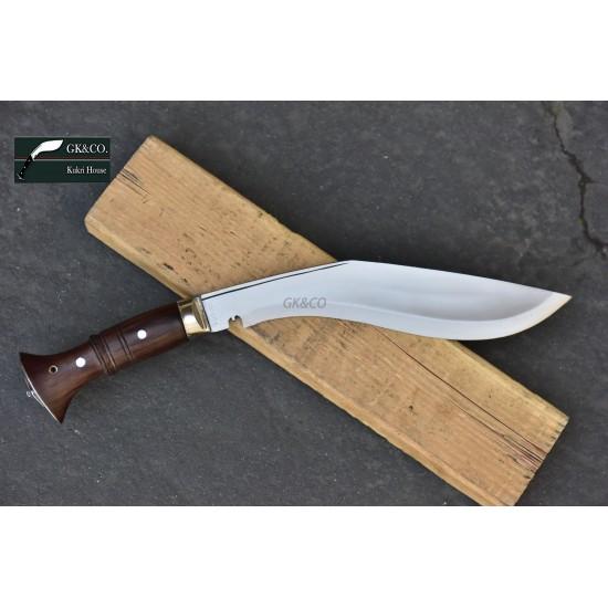 11.25 Inch World War II Gurkha Kukri knife Full Tang - Hand Made knife-In Nepal by GK&CO. Kukri House