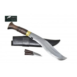 12 Inch blade Butchar Gurkha Kukri knife - Hand Made knife-In Nepal by GK&CO. Kukri House