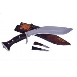 "12 "" GK&CO Panawal Angkhola kukuri, Guard Handle, Ganjawal Sheath Hand Made knife-In Nepal by GK&CO. Kukri House"