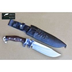 12 Inch  Gurkha Blade Everest Bowie knife-khukuri machete, Hand Made knife-In Nepal by GK&CO. Kukri House