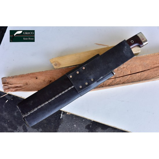 12 inches Blade Rabo-bowie-cleaver-kukri- Handmade knife-In Nepal by GK&CO. Kukri House