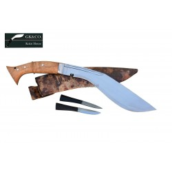 """12 Inch WI Historical """"Hanshee"""" Kukri Hand Made knife-In Nepal by GK&CO. Kukri House"""