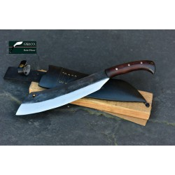 12 inches Blade Big Bush craft knife-bowie-cleaver-kukri- Handmade knife-In Nepal by GK&CO. Kukri House