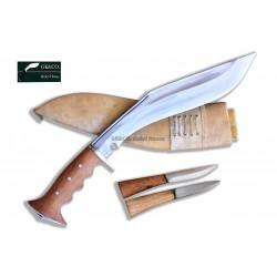 "13"" Blade Iraqi Panawal Angkhola Gripper Handle Handmade in Nepal- Handmade knife-In Nepal by GK&CO. Kukri House"