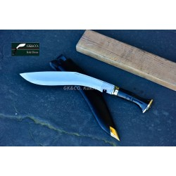 Genuine Gurkha Official Issue 13 Inch -Service No.1 Kukri knife -Handmade knife-In Nepal by GK&CO. Kukri House