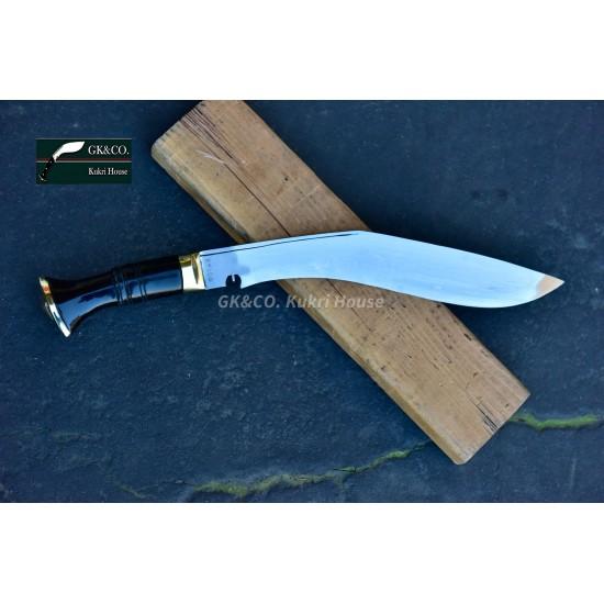 Genuine Gurkha Official Issue 13 Inch -Service No.1 Kukri knife -Handmade knife-In Nepal by GK&CO. Kukri House