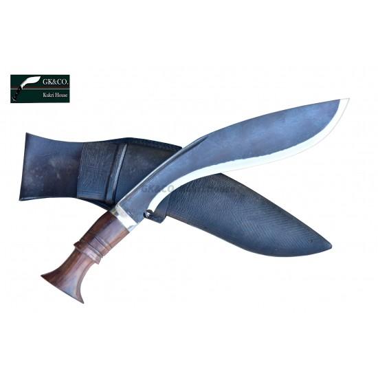 "Authentic Gurkha Kukri-14"" (Rust Free) Survival Blade Kukri Working knife-In Nepal by GK&CO. Kukri House"