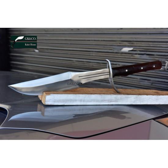 Genuine Gurkha 14 Inch GK&CO. Camping Fishing Survival Bowie Handmade knife-In Nepal by GK&CO. Kukri House