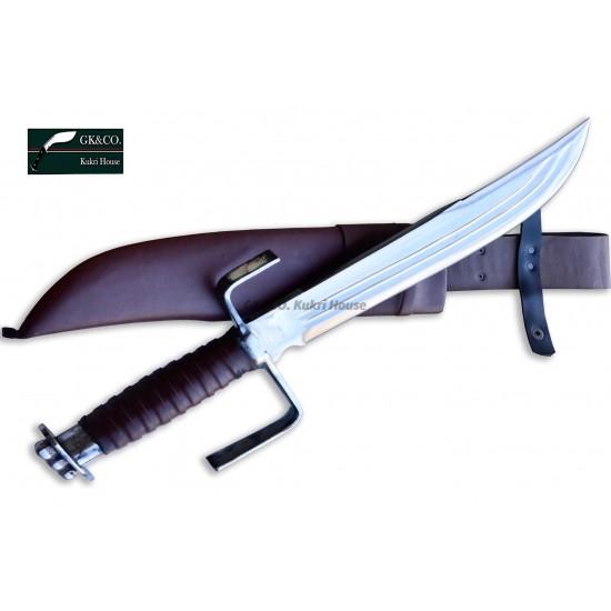 Genuine Gurkha 14 Inch GK&CO. Norseman Bowie Handmade knife-In Nepal by GK&CO. Kukri House