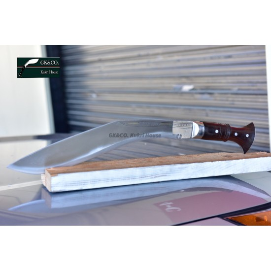 18 inches Blade Panawal Bhojpure Full Tang -Handmade knife-In Nepal by GK&CO. Kukri House