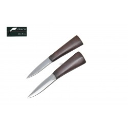 "Two Accessory Knives Karda & Chakmak This Knives perfect to 8"" to 13"" khukuresi - Handmade by GK&CO. Kukri House in Nepal."