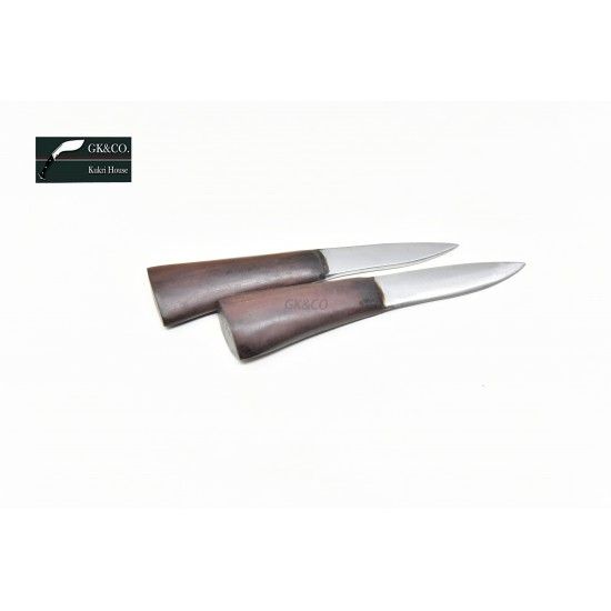 """Two Accessory Knives Karda & Chakmak This Knives perfect to 8"""" to 13"""" khukuresi - Handmade by GK&CO. Kukri House in Nepal."""