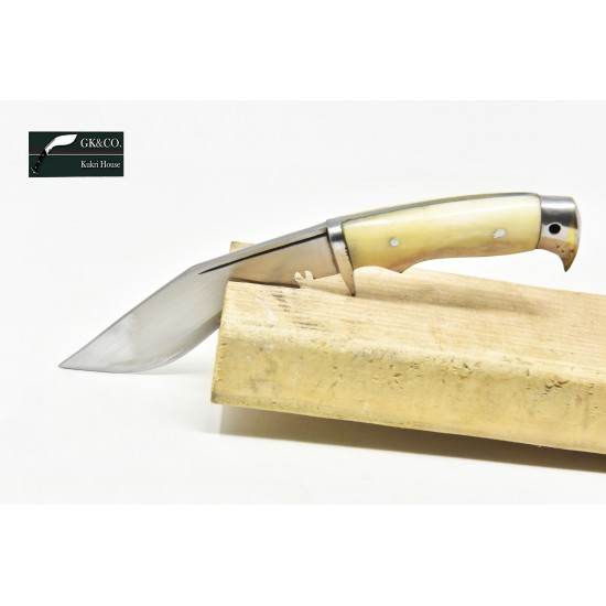 5 Inch American Eagle Kukri Handmade Bone Handle Kitchen knife  by GK&CO. Kukri House