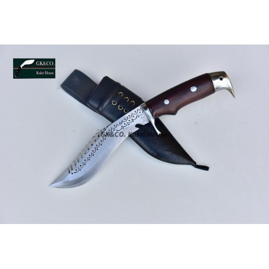 Gurkhas Kukri- 5 Inch Blade American Eagle Dragon  Wooden Handle Kukri ( Kitchen knife) Handmade by GK&CO. Kukri House in Nepal.