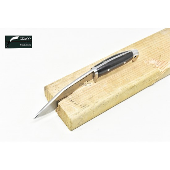 5 Inch American Eagle Handmade Horn Handle Kitchen Knife Gurkha Khukri, by GK&CO.