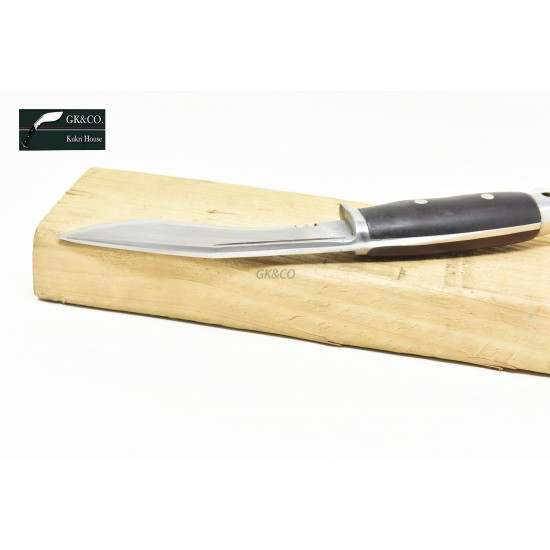 5 INCH AMERICAN EAGLE KUKRI HANDMADE WOODEN HANDLE KITCHEN KNIFE BY GK&CO. KUKRI HOUSE