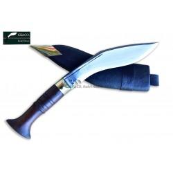 Genuine Gurkha Kukri - 5 Inch Blade Biltong Wooden Handle Kukri- Handmade by GK&CO. Kukri House in Nepal.
