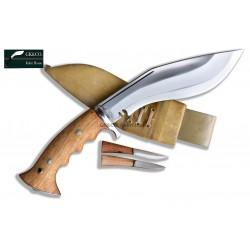 6 Inch blade Iraqi Panawal Angkhola white Gripper Handle working kukri Handmade (Kitchen knife) GK&CO.Kukri House