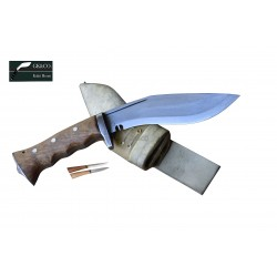 6 Inch blade Iraqi Panawal Angkhola white Gripper Handle working kukri Handmade (Kitchen knife) GK&CO.Kukri House