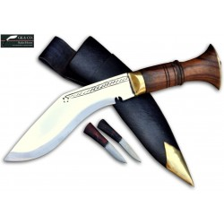 6 Inch Super Mini Jungle Black Case Handmade Knife (Kitchen knife) GK&CO.Kukri House