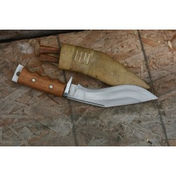 Genuine Gurkha Kukri- 8  Inch  Afghan White Gripper Handle  Handmade by GK&CO. Kukri House