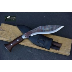Genuine Gurkha Kukri 8 Inch Black (Rust Free) Blade Black Case Hand Made knife-In Nepal by GK&CO. Kukri House