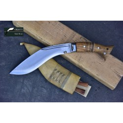 8 Inch Blade WWI Historical Gurkha Kukri knife Handmade knife-In Nepal by GK&CO. Kukri House
