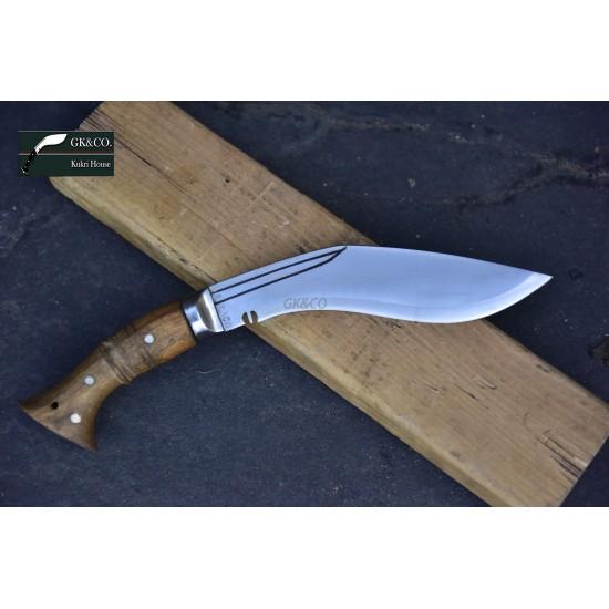 8 Inch Blade WWI Historical Gurkha Kukri knife Handmade knife-In Nepal by GK&CO. Kukri House