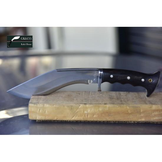 Hand Forged Kukri - 8 Inch Authentic British Gurkha Iraqi Operation Rad Case -Hand Made knife-In Nepal by GK&CO. Kukri House