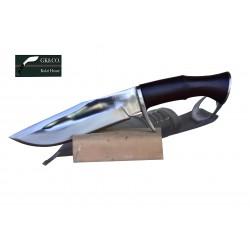 8 Inch Gurkha Blade Special Gk&CO Bowie knife-khukuri machete Handmade In Nepal  by GK&CO. Kukri House